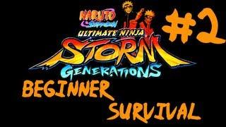 Naruto Shippuden: Ultimate Ninja Storm Generations - Beginner Survival Part #2