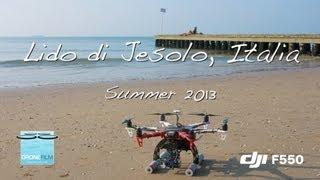 Jesolo Italy  city pictures gallery : DJI F550 Lido di Jesolo, Italia