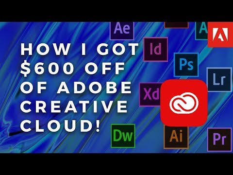 I saved $600 off Creative Cloud! (Here's How)
