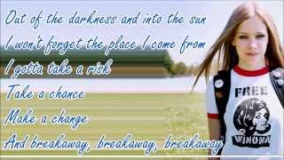 Video Avril Lavigne - Breakaway (Lyric Video) MP3, 3GP, MP4, WEBM, AVI, FLV Juli 2018