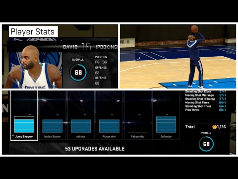attribute - NBA 2K15 Next-Gen MyCAREER Mode - NBA 2K15 My Career Episode 4. This is my first game with the Dallas Mavericks Feat. David IpodKingCarter for My CAREER. Enjoy Folks! NBA 2K15 - Face ...