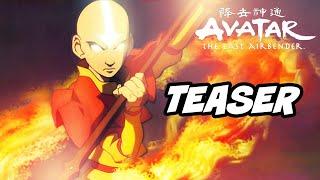 Avatar The Last Airbender Netflix Teaser - Episode 1 Test Footage Breakdown