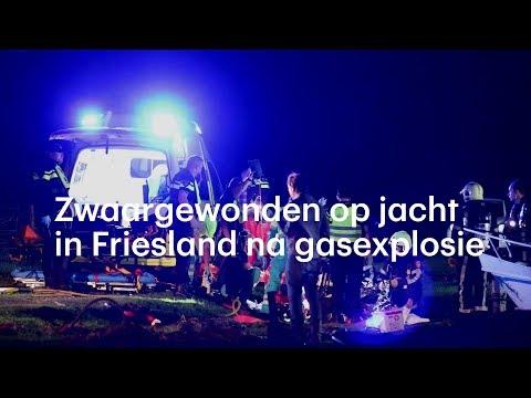 Zwaargewonden op jacht in Friesland na gasexplosie - RTL NIEUWS