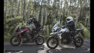 10. 2018 Triumph Tiger 1200 XC And Tiger 1200 XR Get Big Updates | With over 100 updates each