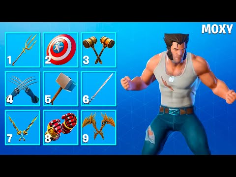 GUESS the PICKAXE - Fortnite Challenge By MoXy