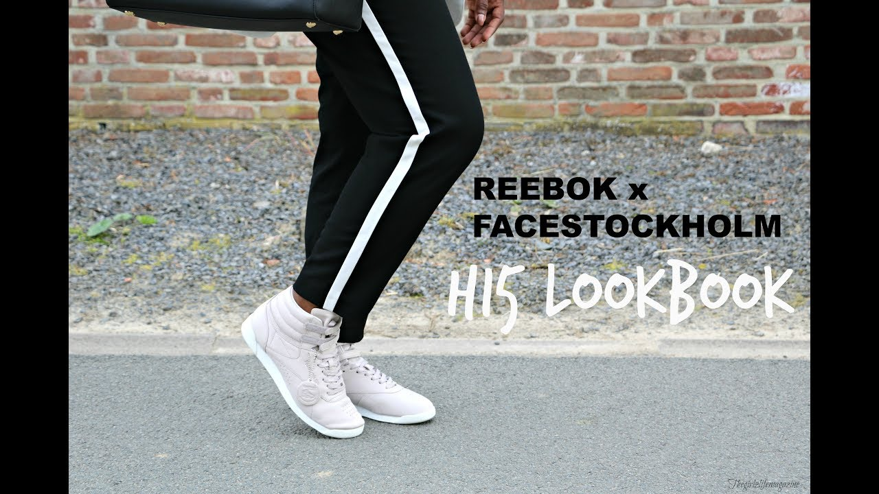 REEBOK x FACESTOCKHOLM LOOKBOOK