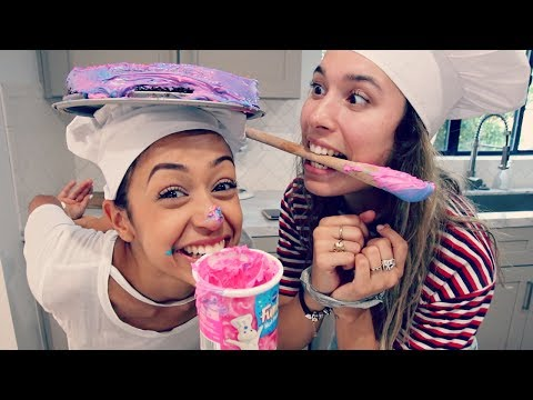 Download BAKING WITH NO HANDS CHALLENGE!! HD Mp4 3GP Video and MP3