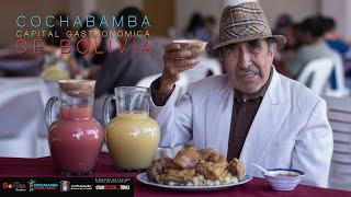 Cochabamba Bolivia  city images : COCHABAMBA CAPITAL GASTRONOMICA DE BOLIVIA - documental completo 4K