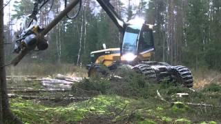 Современная техника для рубки леса