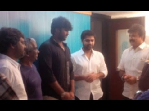 Simbu croons for the debut movie of VijayaKanths son | Sagaptham Movie Songs | Hot News