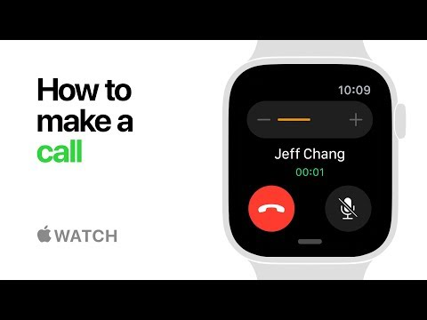 Apple Watch Series 4 — How to Make a Call — Apple