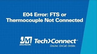 SPF E04 FTS Thermocouple Diagnosis