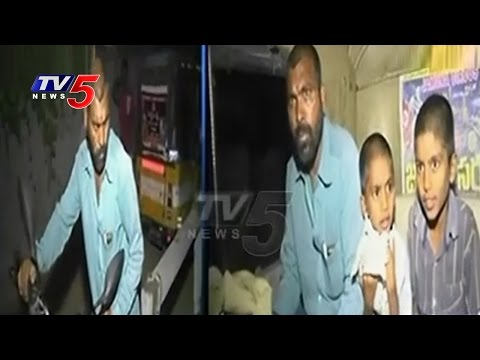 Drunkard Father Tried To Sold His Sons For Money | Hyderabad | TV5 News 01 December 2015 02 25 PM