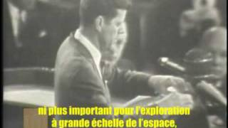 Kennedy propose d'aller sur la lune. Immensité de l'ambition, réalisme sur les difficultés