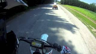 10. Honda CRF250R Top Speed Runs