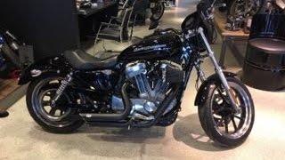 8. Harley Davidson xl883 Superlow