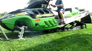 8. 2002 Arctic Cat Mountain Cat 1000 w/ Black Magic Exhaust
