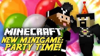 MARIO PARTY IN MINECRAFT?! PARTY TIME Minigame!