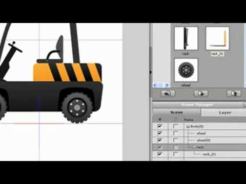 CrazyTalk Animator Tutorial – Composing Props from Flash Components