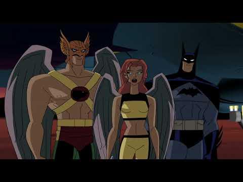 Hawkgirl, Hawkman, and Batman vs. Shadow Thief