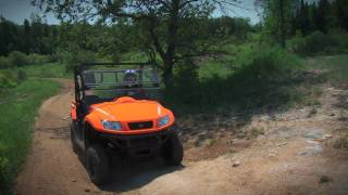 1. Kymco 500 UXV Side-x-Side Test Ride