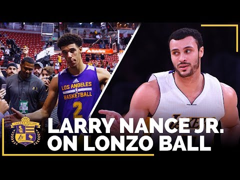 Video: Larry Nance Jr. On Lonzo Ball: 'As Unselfish As You Can Imagine'