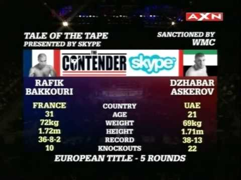 The Contender Asia Muay Thai Ep.15 part.5/12