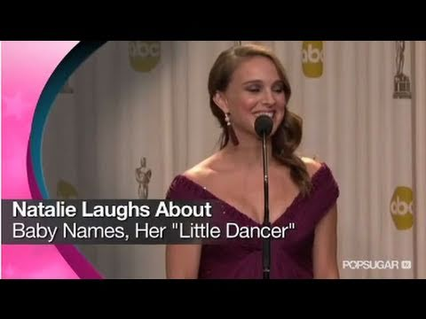 "Natalie Portman Laughs About Baby Names, Her ""Little Dancer"""