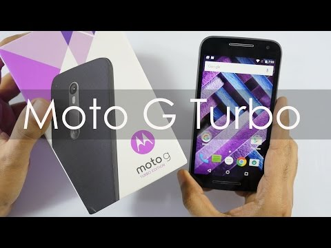 Moto G Turbo Edition Unboxing & Overview