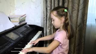 Белая береза. Дети поют. Виктория 6 лет.