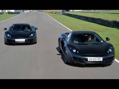 mp4 12 - McLaren Automotive has revealed the MP4-12C supercar to the media today. To mark the occasion they have released video of Formula 1 world champions, Lewis Ha...