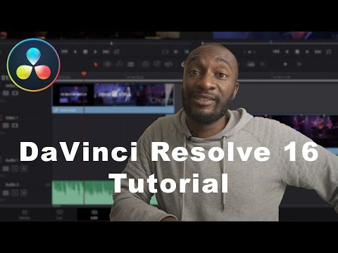 LEARN DAVINCI RESOLVE 16 IN 20 MINUTES - Video Editor Guide for Beginners