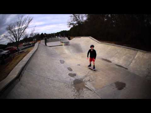 Walk Around of Owens Field Skatepark - Columbia, SC