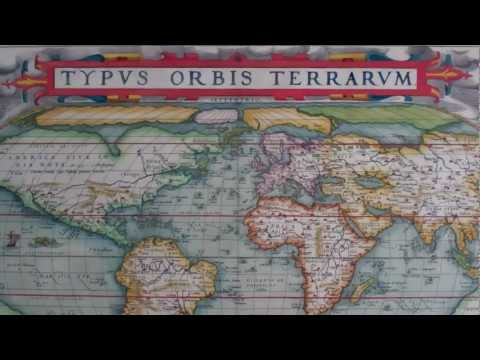The Map House of London. Ortelius Map of the World, 1571