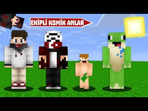 EKİPLİ KOMİK ANLAR ft.OğuzAslan - Minecraft
