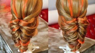 Причёска с помощью резинок - Красота! - 7