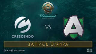 Crescendo vs Alliance, The International 2017 Qualifiers [Lex, 4ce]