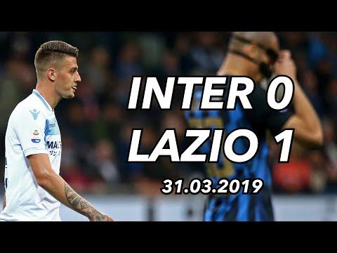 INTER 0 VS 1 LAZIO - 31.03.19
