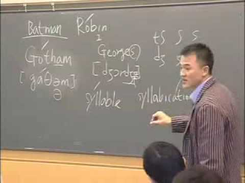 Speaking - Lecture 18: Word Stress (cont.); Stress in Compounds. View the complete course at: http://ocw.mit.edu/21F-223F04 License: Creative Commons BY-NC-SA More info...