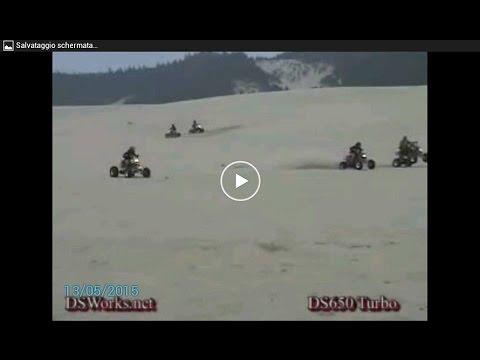 quad extreme nel deserto