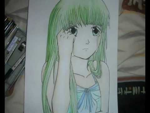 Manga colorieren + zeichnen Schritt für Schritt