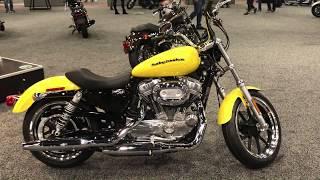 4. 2018 883 SuperLow in Corona Yellow Pearl | San Diego Harley-Davidson