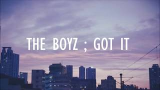 THE BOYZ - GOT IT (SUB ESPAÑOL)