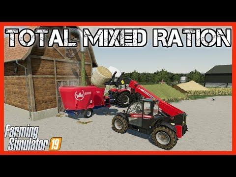 QUICK TIPS: TOTAL MIXED RATION (TMR) | Farming Simulator 19