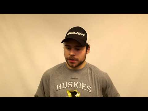 C.J. Eick Postgame Interview vs. Bemidji State, 12-6-13