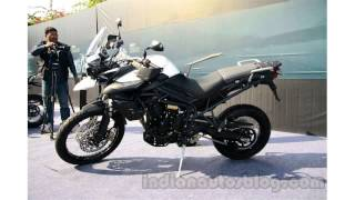 10. triumph tiger 800