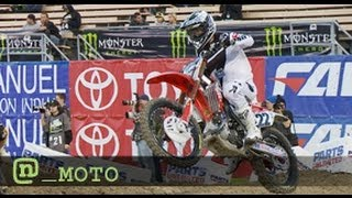 Chad Reed Talks About The Crash That Ended His 2012 Supercross Season