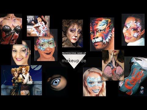 Bodypainting Farbe und Körperfarbe - Produkte und Anleitungen