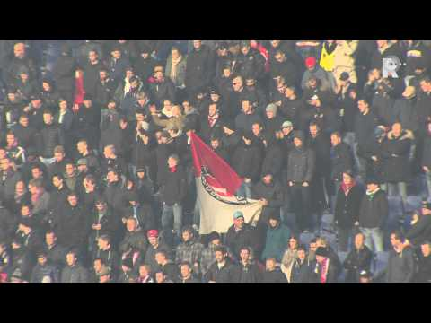 Training - De selectie van Feyenoord heeft de laatste training voorafgaand aan de wedstrijd tegen Ajax afgewerkt. Traditioneel kwamen er veel supporters van de Rotterdamse club af op de laatste training...