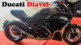 9. Ducati diavel specification| akrapovic exhaust SOUND |2017 new | MUST WATCH! :P !!